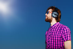 Dreamy music Royalty Free Stock Image
