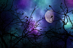 Free Dreamy Night Sky Royalty Free Stock Images - 89324709