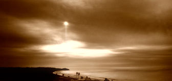 Dreamy Northern Malibu Stock Image