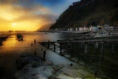 Dreamy pier Royalty Free Stock Photo