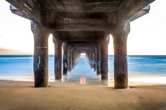 Dreamy Pier Royalty Free Stock Photo
