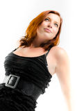 Dreamy portrait of redheaded woman Royalty Free Stock Photography
