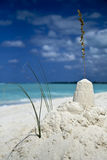 Dreamy sandcastle Stock Photography