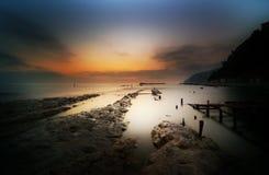 Dreamy seascape Stock Photo