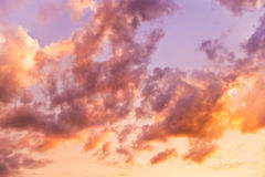 Dreamy sky Royalty Free Stock Image