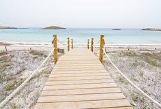 Dreamy soft paradise beach Royalty Free Stock Photos