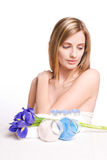 Dreamy spa beauty. Royalty Free Stock Photography