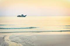 Dreamy sunset seascape Stock Image