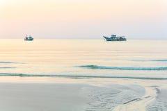 Dreamy sunset seascape Royalty Free Stock Image