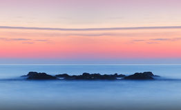 Free Dreamy Tranquil Seascape Sunset Royalty Free Stock Image - 26516726