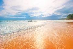 Dreamy tropical beach Royalty Free Stock Photos