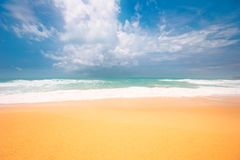 Dreamy tropical beach Royalty Free Stock Photography