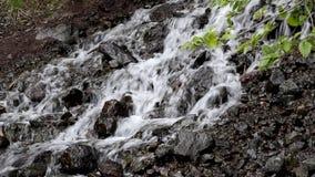 Dreamy waterfall (with sound) Stock Photo