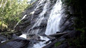 Dreamy Waterfalls stock video footage