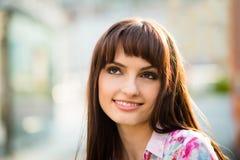 Dreamy woman portrait Stock Photography