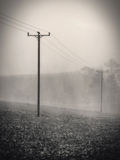 Dreary Storm Landscape Royalty Free Stock Images