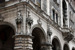 Drechsler palace. Opposite the Opera (Budapest, Hungary Stock Photo