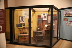 Dred Scott Full Display, St Louis, MO. Dred Scott c. 1799 – September 17, 1858 was an enslaved African American man in the United States who unsuccessfully Royalty Free Stock Image