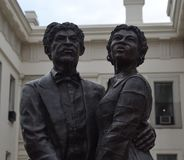 Dred Scott & Harriet Robinson fotografering för bildbyråer