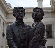 Dred Scott & Harriet Robinson stock afbeelding