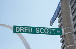 Dred Scott Way Royalty Free Stock Photo