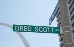 Dred Scott Way Royalty Free Stock Photo