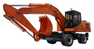 Excavator Royalty Free Stock Photo