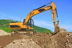 Dredge on a building site Stock Photos