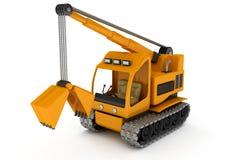 Dredge, Excavator Royalty Free Stock Image
