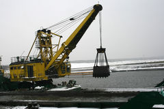 Dredge the sea Royalty Free Stock Images