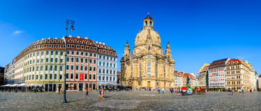 Frauenkirche, Dresden, Germany Stock Photo