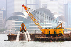 Dredger Stock Photo