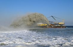Dredger Stock Photography