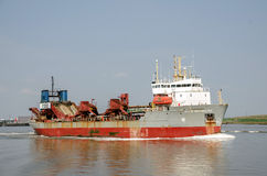 Dredger City of Westminster Stock Photography