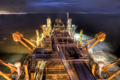 Dredging HDR Stock Photos