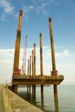Dredging vessel Stock Image