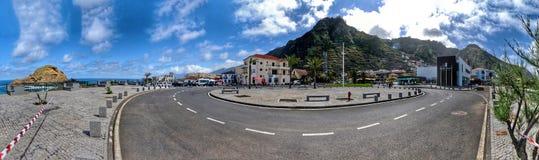 Dreh von Porto Moniz stockfotos