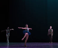 Drehen-klassisches Ballett ` Austen-Sammlung ` Stockfoto