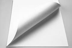 Drehen Sie ein neues Blatt um Lizenzfreies Stockbild