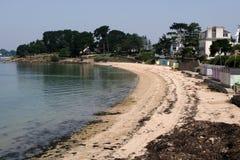 Drehen-Strand von Ile Zusatz-Moines lizenzfreie stockfotografie
