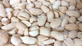 Drehende Erdnüsse stock footage