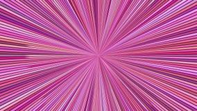 Drehende Hypnotik sprengte Streifen - nahtlose Schleifenbewegungsgraphiken stock video