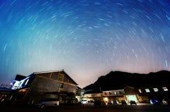 Drehende Sterne Stockfoto