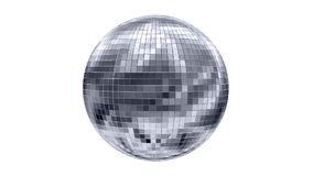 Drehender Discoball stock footage