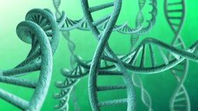 Drehender DNA-Strang lizenzfreie abbildung