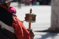 Drehender Glaube des Gebets Stockfotografie