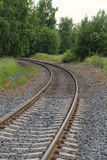 Dreheneisenbahn Stockfoto