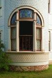 Drehkopf-Fenster der Königin-Anne Lizenzfreie Stockfotografie
