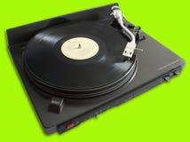 Drehscheibe mit Vinyl Lizenzfreie Stockfotografie