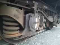 Dreht Lastwagen des Zugs Stockbild